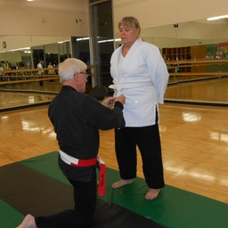 Yellow Belt - Suzzane Nov 2013
