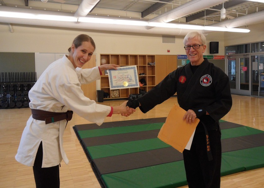 Brown Belt - Lindsay Apr 2011